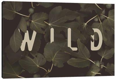 WILD Canvas Art Print