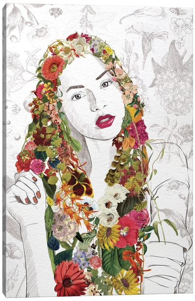 Flower Fairy Canvas Print #FLFN6