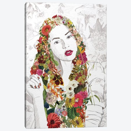Flower Fairy Canvas Print #FLFN6} by 5by5collective Canvas Artwork