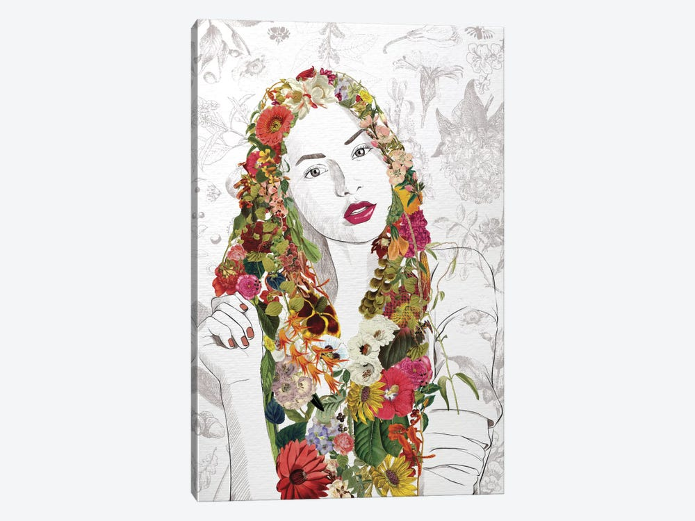Flower Fairy by 5by5collective 1-piece Art Print