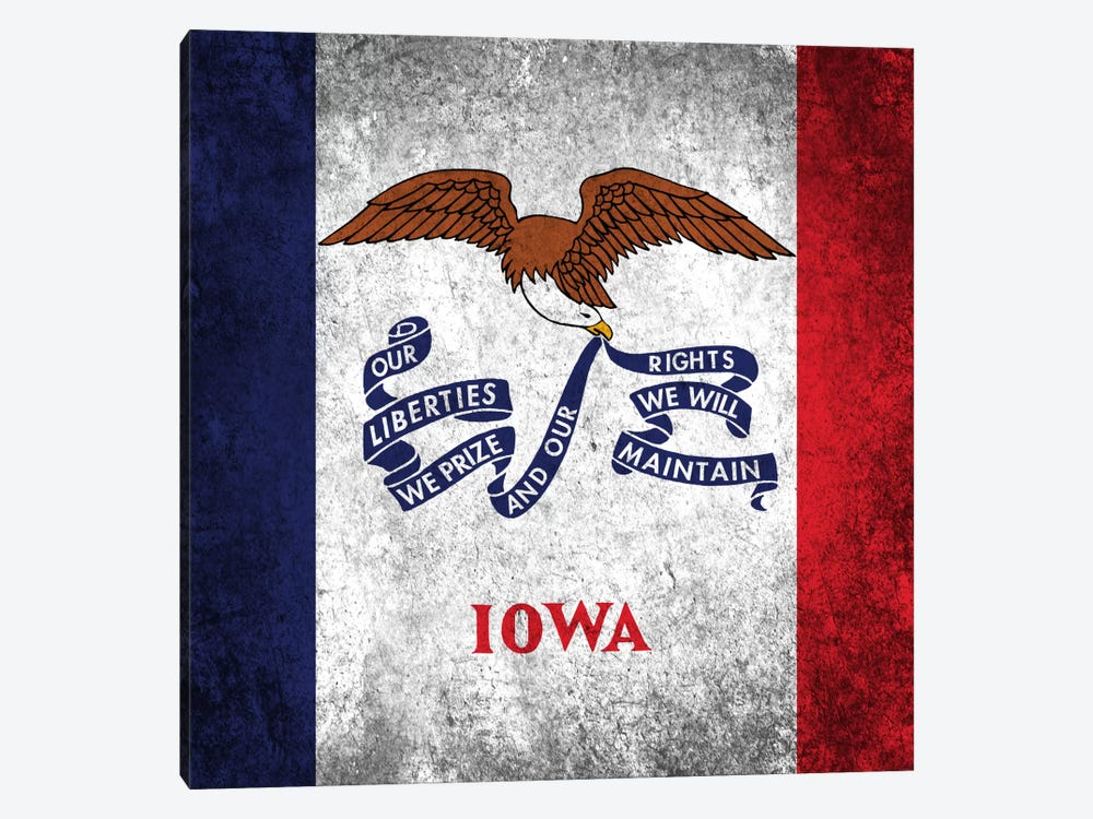 Iowa by iCanvas 1-piece Canvas Print