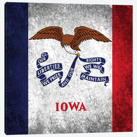 Iowa Canvas Print #FLG159} by iCanvas Canvas Art