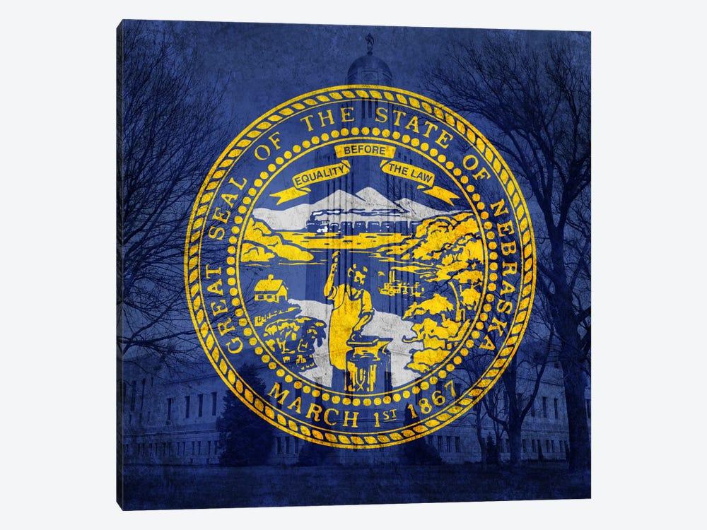 Nebraska (Capitol Building) by iCanvas 1-piece Canvas Artwork