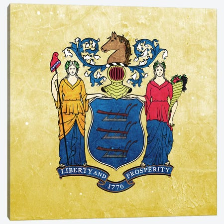 New Jersey II Canvas Print #FLG272} by iCanvas Canvas Art Print