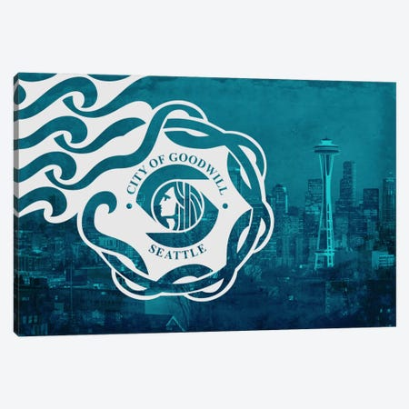 Seattle, Washington Canvas Print #FLG361} by iCanvas Canvas Art Print