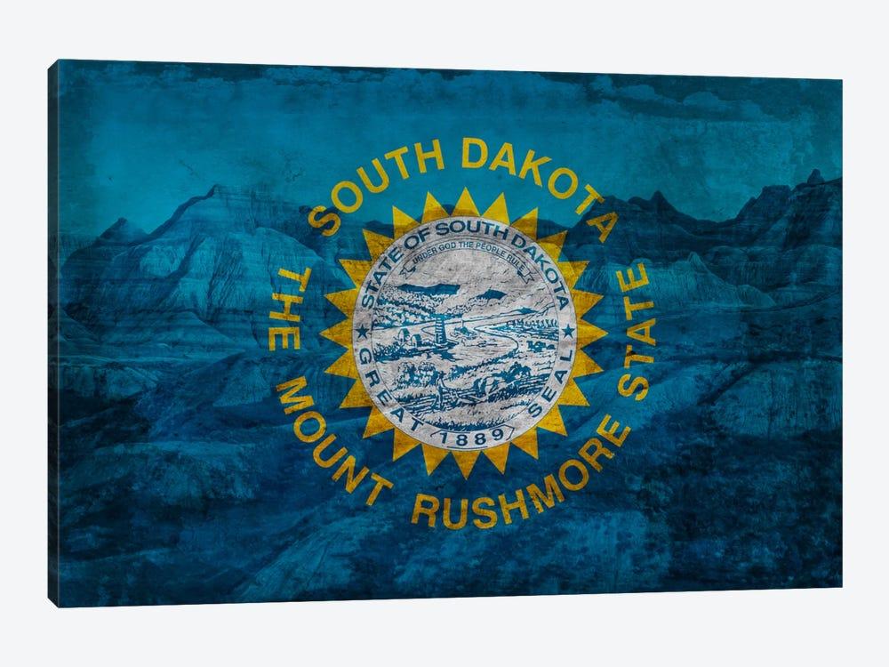 South Dakota (Badlands National Park) by iCanvas 1-piece Canvas Wall Art