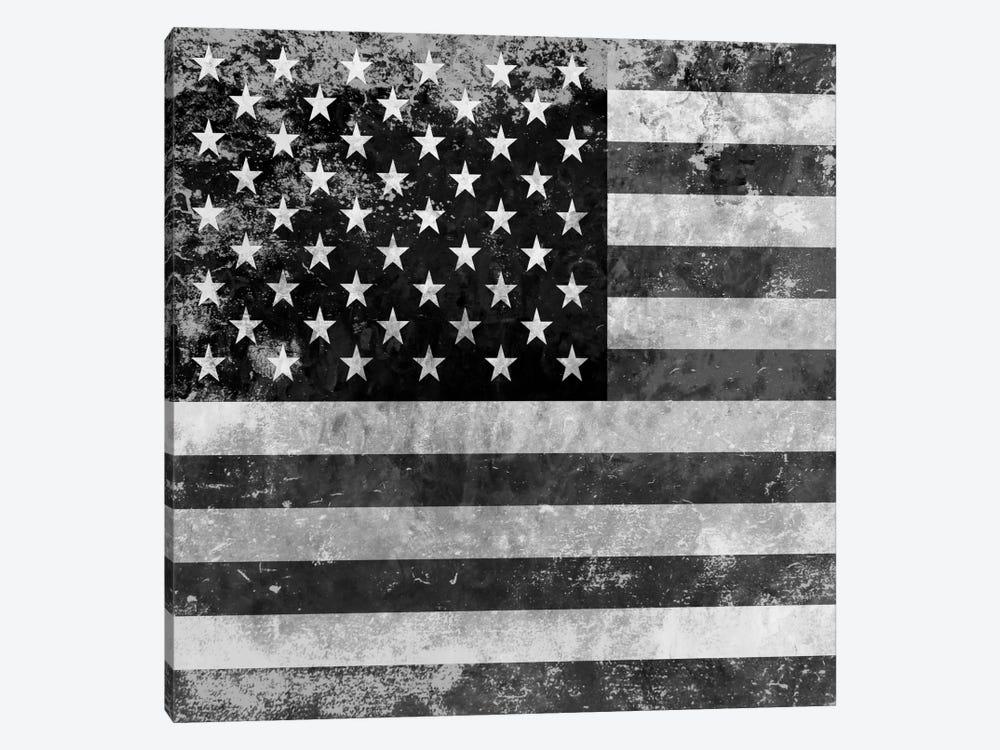 """Grungy"" USA Flag by iCanvas 1-piece Canvas Print"