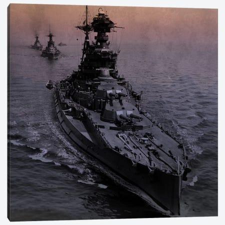 WWII Era Destroyer Fleet II Canvas Print #FLG474} by iCanvas Canvas Art