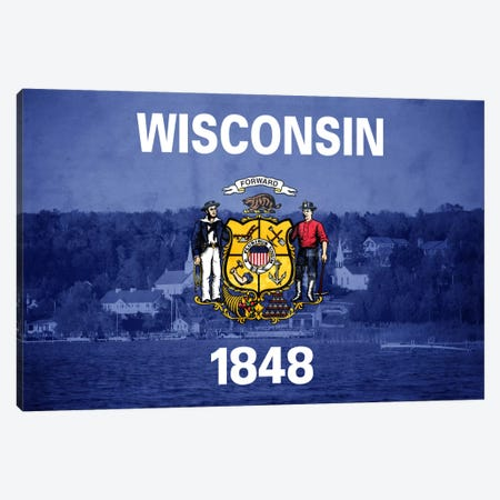 Wisconsin (Door County) Canvas Print #FLG516} by iCanvas Canvas Print