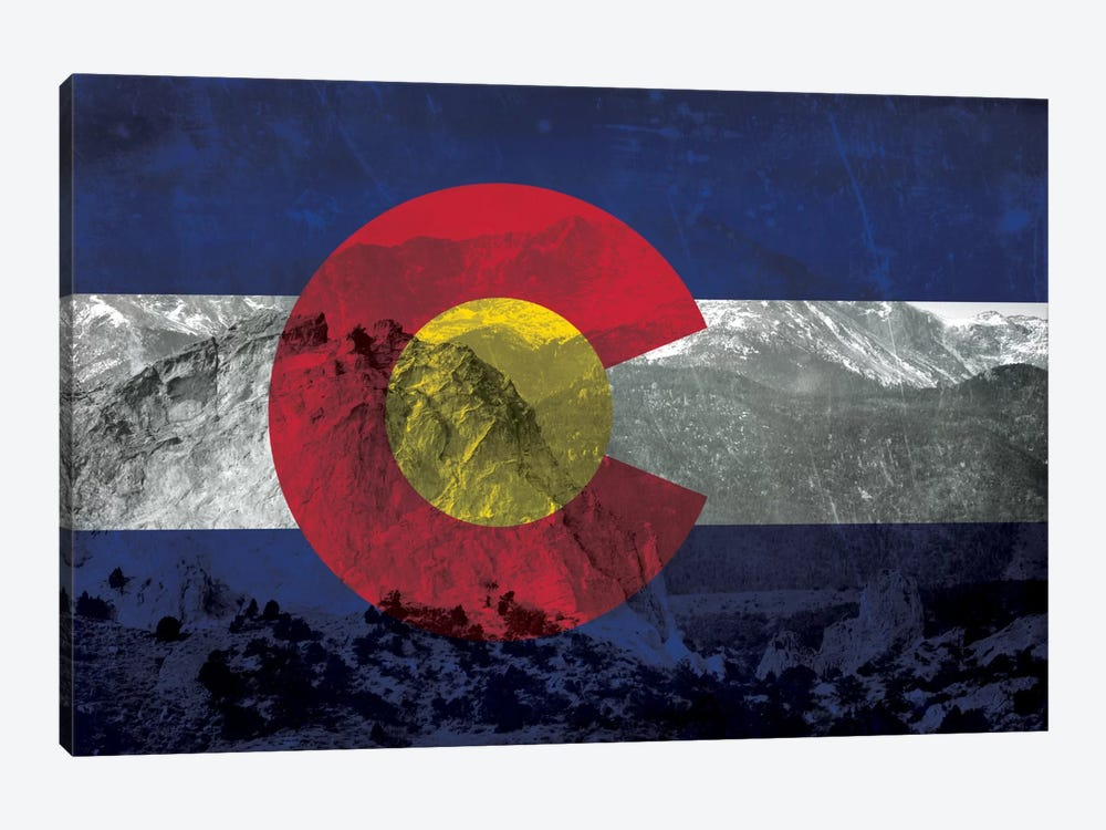 Colorado (Pikes Peak) by iCanvas 1-piece Canvas Wall Art
