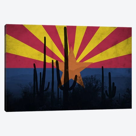 Arizona (Cacti) Canvas Print #FLG543} by iCanvas Canvas Print