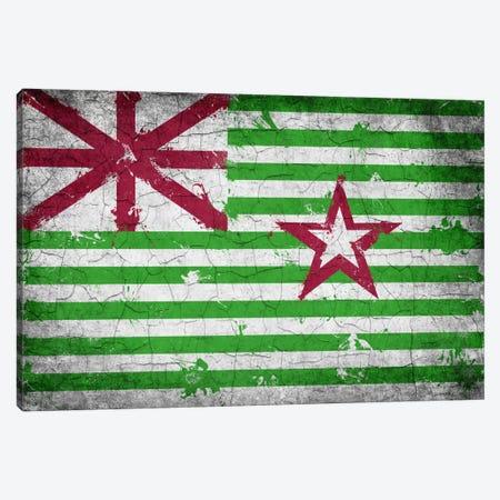 Stephen F. Austin Alternate Texas Cracked Paint State Flag Canvas Print #FLG553} by iCanvas Canvas Wall Art