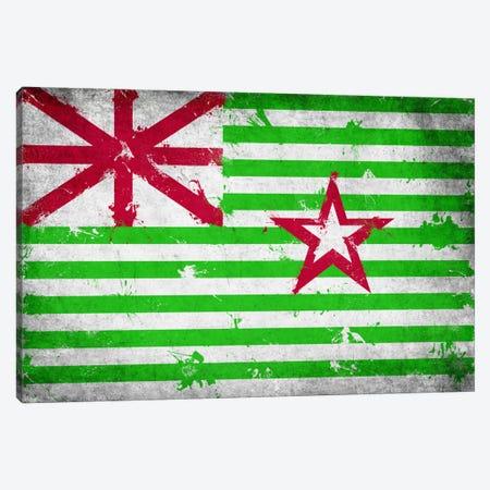 Stephen F. Austin Alternate Texas Fresh Paint State Flag Canvas Print #FLG554} by iCanvas Canvas Art Print