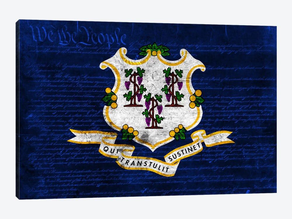 Connecticut (U.S. Constitution) by iCanvas 1-piece Art Print