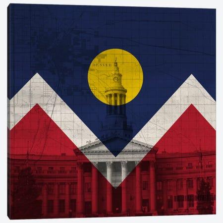 Denver, Colorado (City Hall) Canvas Print #FLG72} by iCanvas Canvas Print