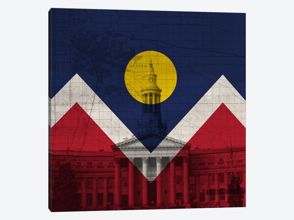 Denver, Colorado (City Hall) by iCanvas 1-piece Canvas Print