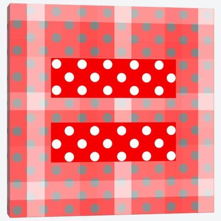 LGBT Human Rights & Equality Flag (Polka Dots) V Canvas Print #FLG99} by iCanvas Canvas Art Print