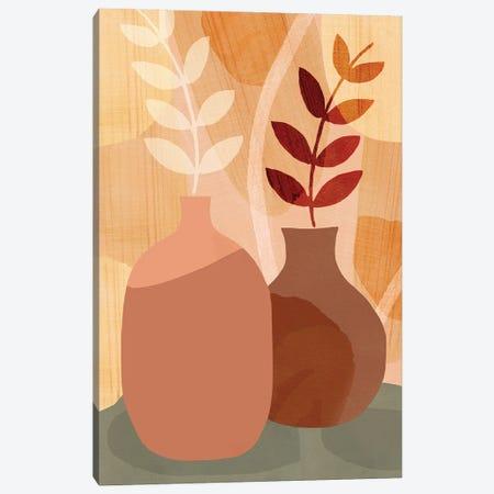 Sunkissed V Canvas Print #FLK12} by Flora Kouta Canvas Print