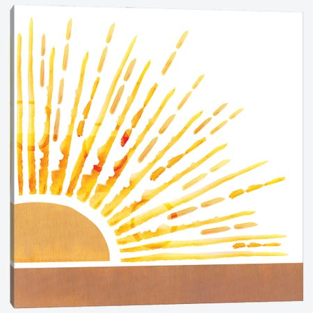 Sunkissed VI Canvas Print #FLK13} by Flora Kouta Art Print