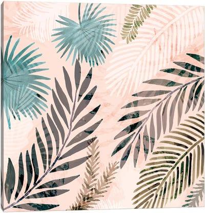 Vintage Palms III Canvas Art Print