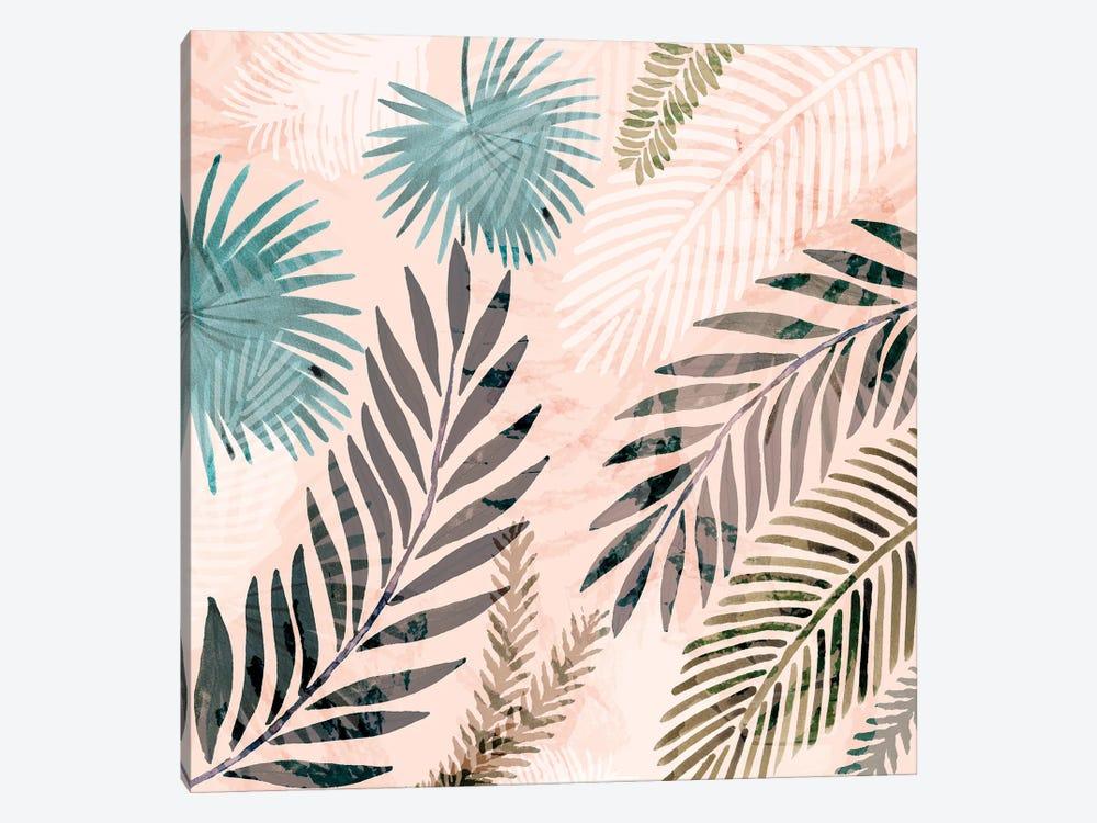 Vintage Palms III by Flora Kouta 1-piece Canvas Artwork