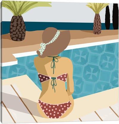 Pool Days III Canvas Art Print
