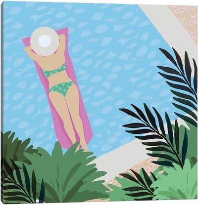 Pool Days V Canvas Art Print