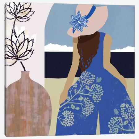 Sweet Jasmine I Canvas Print #FLK26} by Flora Kouta Canvas Art Print