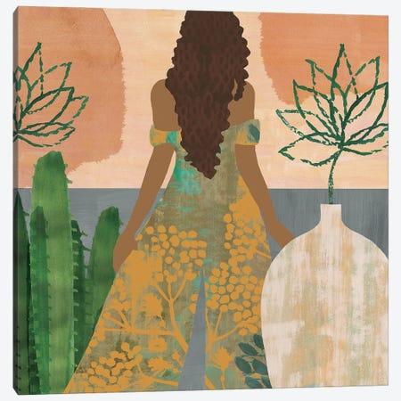 Sweet Jasmine II Canvas Print #FLK27} by Flora Kouta Art Print
