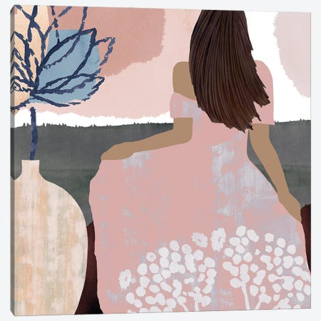 Sweet Jasmine III Canvas Print #FLK28} by Flora Kouta Canvas Artwork