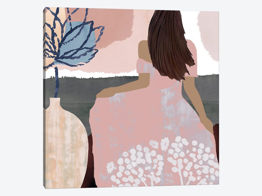 Sweet Jasmine III by Flora Kouta 1-piece Canvas Artwork