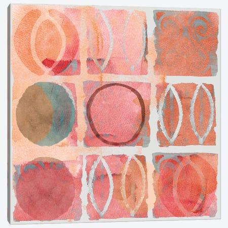 Terra Rosa IV Canvas Print #FLK32} by Flora Kouta Art Print