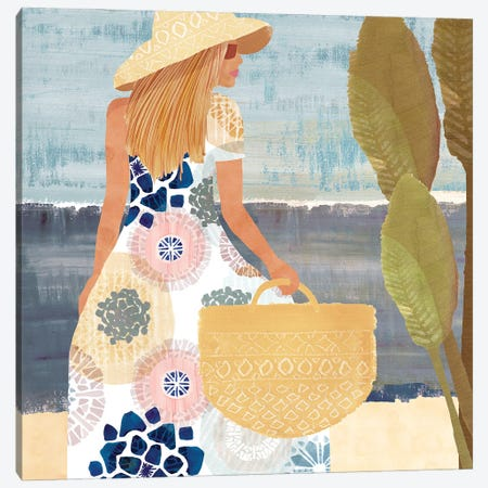 Formentera I Canvas Print #FLK33} by Flora Kouta Canvas Art Print