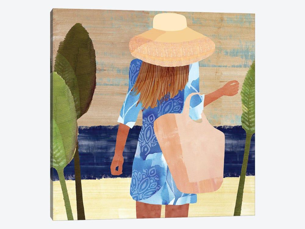 Formentera III by Flora Kouta 1-piece Canvas Art