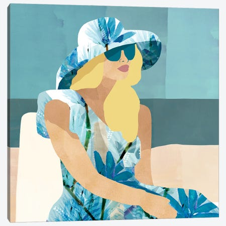 Las Salinas I Canvas Print #FLK36} by Flora Kouta Canvas Artwork
