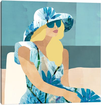 Las Salinas I Canvas Art Print