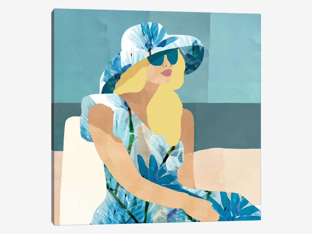 Las Salinas I by Flora Kouta 1-piece Canvas Print