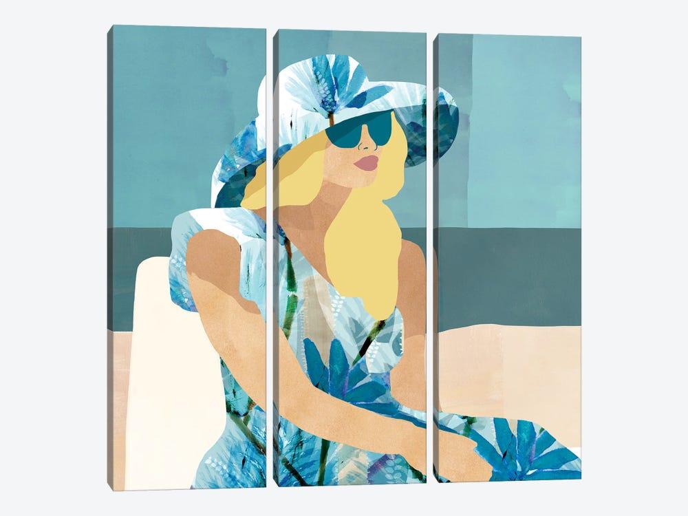 Las Salinas I by Flora Kouta 3-piece Art Print