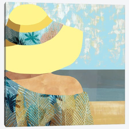 Las Salinas II Canvas Print #FLK37} by Flora Kouta Canvas Wall Art