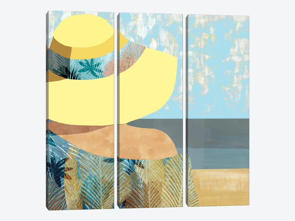 Las Salinas II by Flora Kouta 3-piece Canvas Artwork