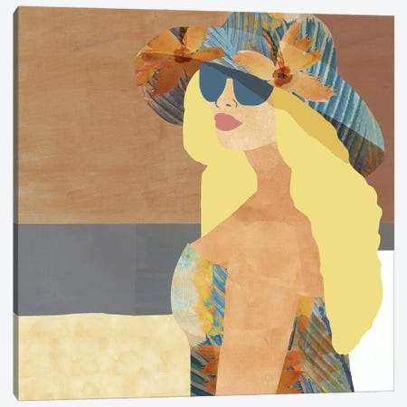 Las Salinas III Canvas Print #FLK38} by Flora Kouta Canvas Print