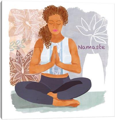 Yoga Time I Canvas Art Print