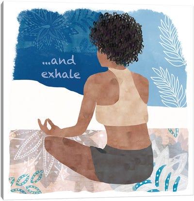 Yoga Time II Canvas Art Print