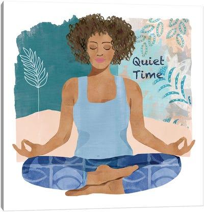 Yoga Time III Canvas Art Print