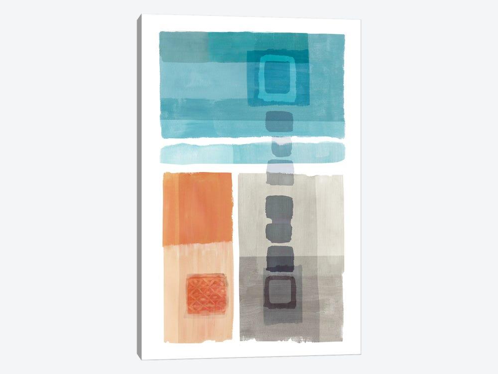 Amy Bay I by Flora Kouta 1-piece Canvas Print