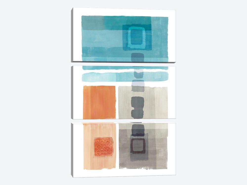 Amy Bay I by Flora Kouta 3-piece Art Print