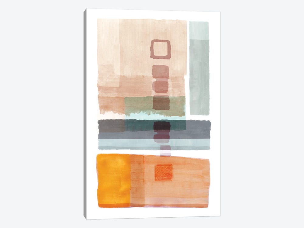 Amy Bay II by Flora Kouta 1-piece Canvas Art