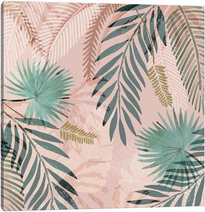 Vintage Palms I Canvas Art Print