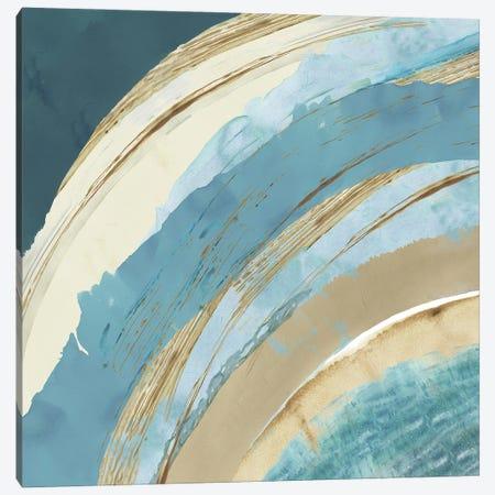 Making Blue Waves I Canvas Print #FLK61} by Flora Kouta Canvas Wall Art
