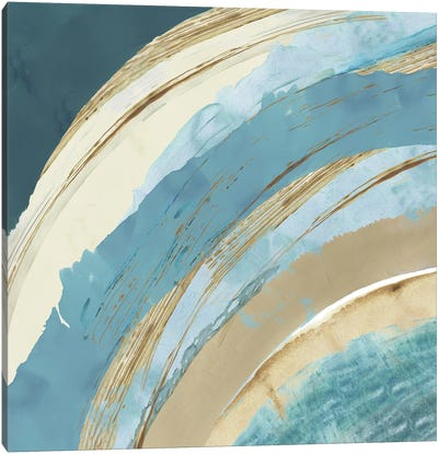 Making Blue Waves I Canvas Art Print